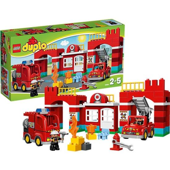 Конструктор LEGO DUPLO 10593 Лего Пожарная станция — купить в ...