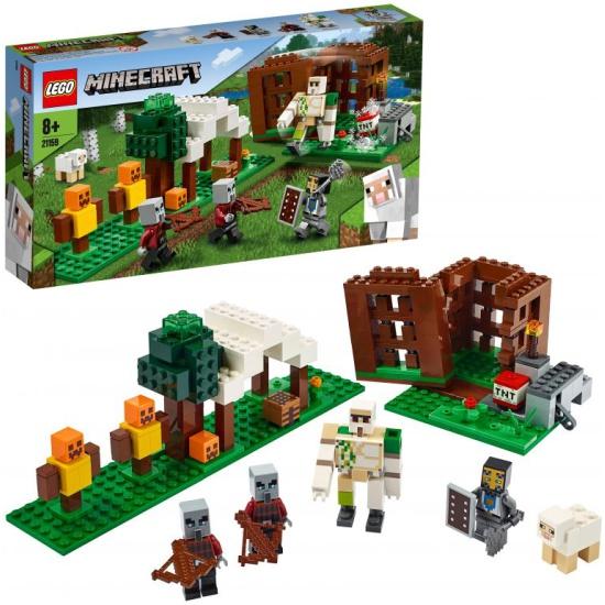 Конструктор LEGO® Minecraft™ 21159 Аванпост разбойников 21159 LEGO - купить по выгодной цене в интернет-магазине ОНЛАЙН ТРЕЙД.РУ Тула