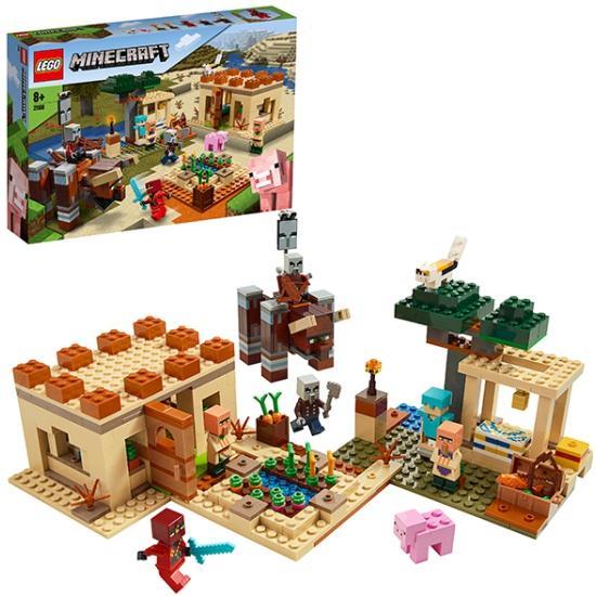 Конструктор LEGO Minecraft 21160 Патруль разбойников 21160 LEGO - купить по выгодной цене в интернет-магазине ОНЛАЙН ТРЕЙД.РУ Тула