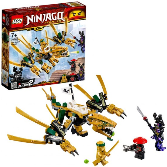 Конструктор LEGO® NINJAGO® 70666 Золотой Дракон — купить в интернет-магазине ОНЛАЙН ТРЕЙД.РУ