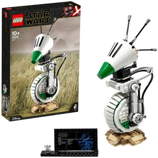 Конструктор LEGO Star Wars 75278 Дроид D-O 75278 LEGO - низкая цена, доставка или самовывоз по Краснодару. Конструктор Лего Star Wars 75278 Дроид D-O купить в интернет магазине ОНЛАЙН ТРЕЙД.РУ