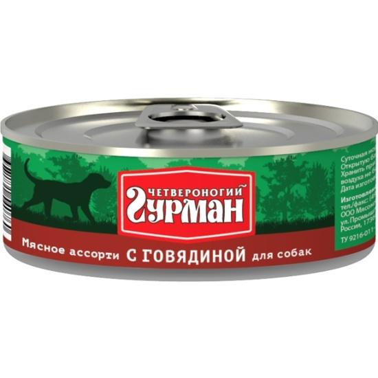 Корм Четвероногий Гурман Суворовская каша 300g 61186
