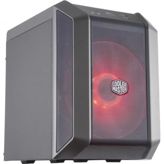 Корпус Cooler Master MasterCase H100 Mesh Black-Iron Grey MCM-H100-KANN-S00- купить по выгодной цене в интернет-магазине ОНЛАЙН ТРЕЙД.РУ Санкт-Петербург