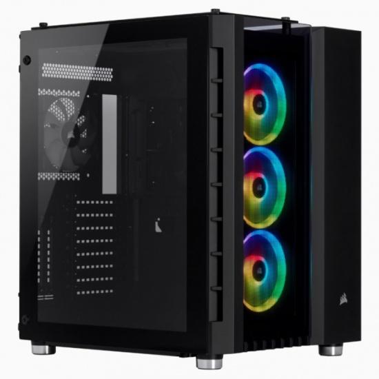 Корпус Corsair Crystal Series 680X RGB CC-9011168-WW Black - купить в интернет-магазине ОНЛАЙН ТРЕЙД.РУ