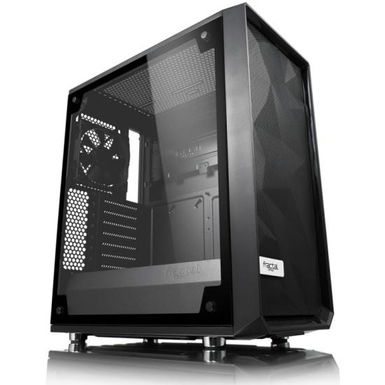 Корпус Fractal Design Meshify C–TG (FD-CA-MESH-C-BKO-TGL) - купить в интернет-магазине ОНЛАЙН ТРЕЙД.РУ