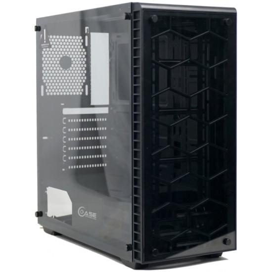 Корпус Powercase Attica G TG (CAGB-F0) — купить в интернет-магазине ОНЛАЙН ТРЕЙД.РУ
