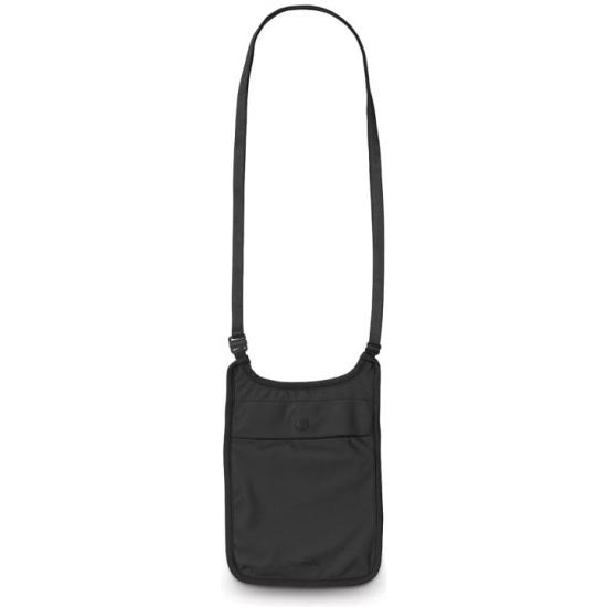ea582d68032b Кошелек потайной нательный Pacsafe Coversafe S75, черный - купить в  интернет магазине с доставкой,