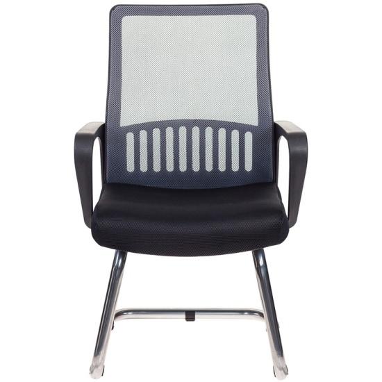 Кресло для посетителей Бюрократ MC-209/DG/TW-11 спинка сетка серый TW-04 сиденье черный TW-11- купить по выгодной цене в интернет-магазине ОНЛАЙН ТРЕЙД.РУ Пенза