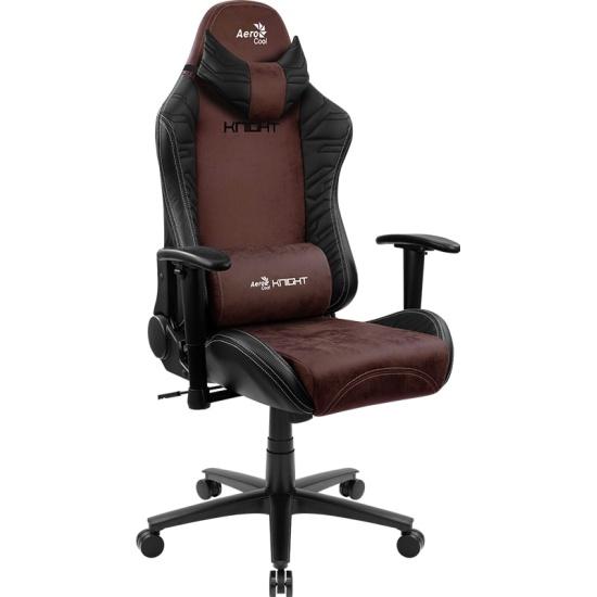 Кресло геймерское Aerocool KNIGHT Burgundy Red [4710562751222] - купить в интернет-магазине ОНЛАЙН ТРЕЙД.РУ