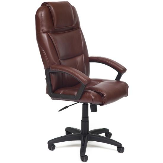 Кресло Tetchair BERGAMO кож/зам, коричневый 2 TONE id10200 - купить по выгодной цене в интернет-магазине ОНЛАЙН ТРЕЙД.РУ Волгоград