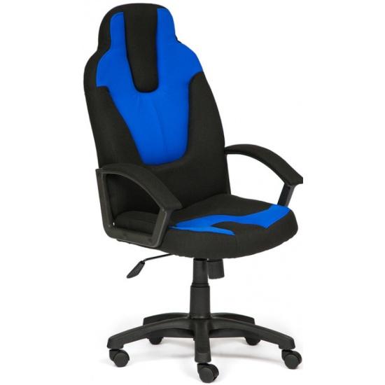 Кресло Tetchair NEO3 ткань, чeрный/синий, 2603/2601 id3041 - купить по выгодной цене в интернет-магазине ОНЛАЙН ТРЕЙД.РУ Уфа