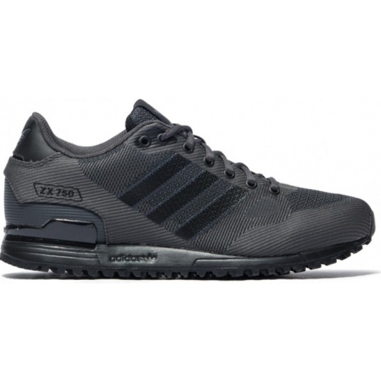 9e1c4d951 Кроссовки ADIDAS Originals ZX 750 S80125 мужские, цвет черный, рус. размер  44 -