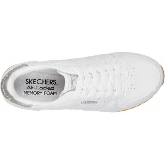 6fe7f6a1 Кроссовки Skechers 699-WHT OG 85-OLD SCHOOL COOL женские, цвет белый ...
