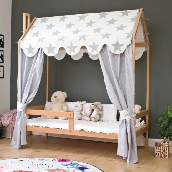 Кровать-домик Красная звезда Р424 бук — купить в интернет-магазине ОНЛАЙН ТРЕЙД.РУ