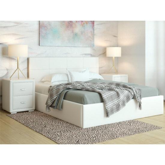 Кровать Орматек Alba с подъемным механизмом Белый 140X200 — купить в интернет-магазине ОНЛАЙН ТРЕЙД.РУ