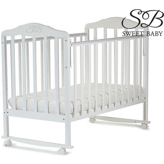 Кровать sweet baby mario цвет белое облако