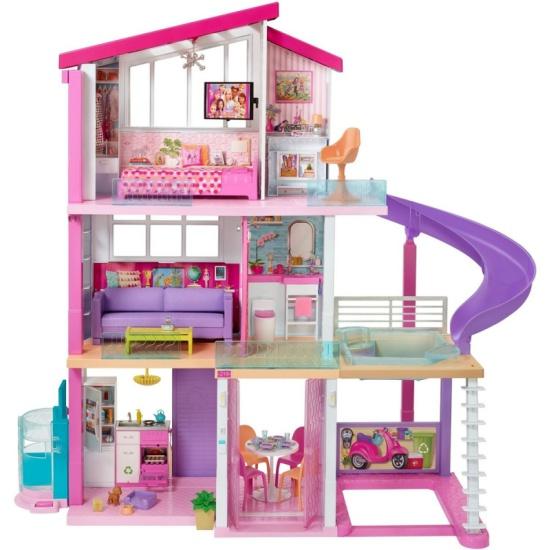 Кукольный домик Barbie Дом мечты, FHY73- низкая цена, доставка или самовывоз по Самаре. Кукольный домик Барби Дом мечты, FHY73 купить в интернет магазине ОНЛАЙН ТРЕЙД.РУ.