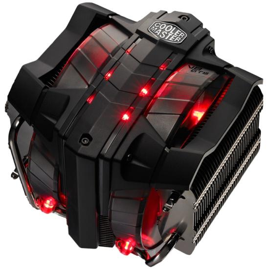 Кулер для процессора Cooler Master V8 GTS RR-V8VC-16PR-R1 red