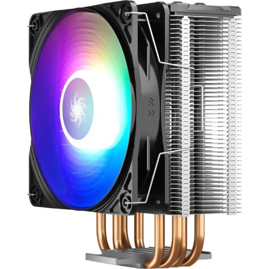 Кулер для процессора DEEPCOOL GAMMAXX GT A-RGB- низкая цена, доставка или самовывоз по Краснодару. Кулер для процессора DEEPCOOL GAMMAXX GT A-RGB купить в интернет магазине ОНЛАЙН ТРЕЙД.РУ