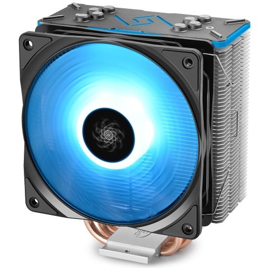 Кулер для процессора DEEPCOOL GAMMAXX GT Black RGB Lighting - купить в интернет-магазине ОНЛАЙН ТРЕЙД.РУ