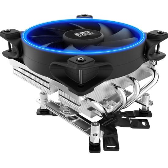 Кулер для процессора PCCooler TDP 125W Blue 1000-1800RPM GI-46U CORONA B — купить в интернет-магазине ОНЛАЙН ТРЕЙД.РУ
