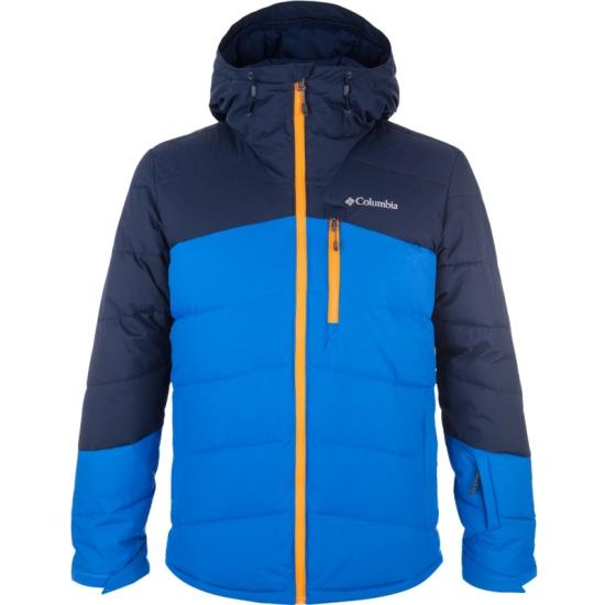 Куртка утепленная Columbia 1820141 Woolly Hollow™ II Jacket мужская, цвет синий, размер 44-46 — купить в интернет-магазине ОНЛАЙН ТРЕЙД.РУ