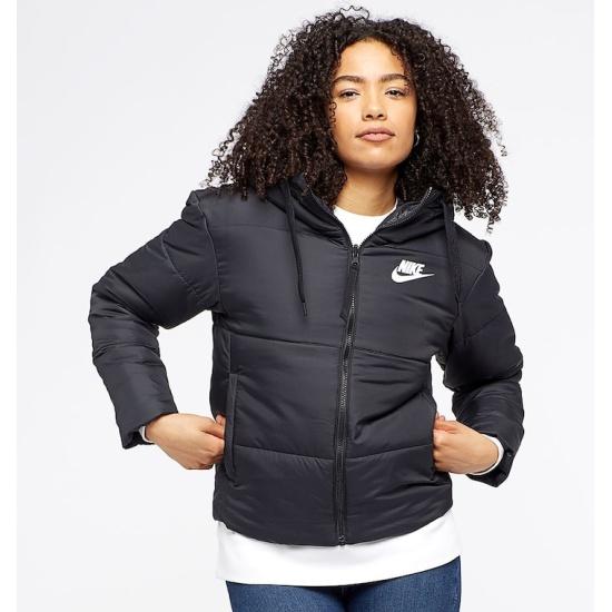 cd3ed7d0 Куртка двусторонняя NIKE 939360-010 NSW SYN FILL JKT REV женская, цвет  черный,