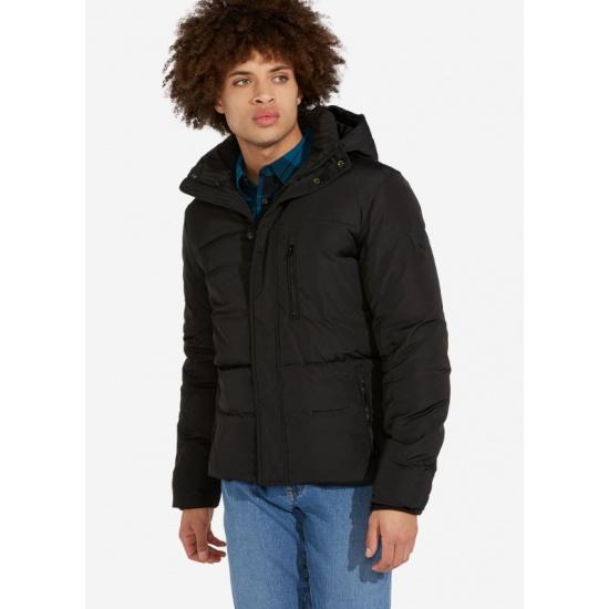 Куртка WRANGLER W4A2W3100 PROTECTOR JACKET мужская, цвет чёрный, размер S — купить в интернет-магазине ОНЛАЙН ТРЕЙД.РУ