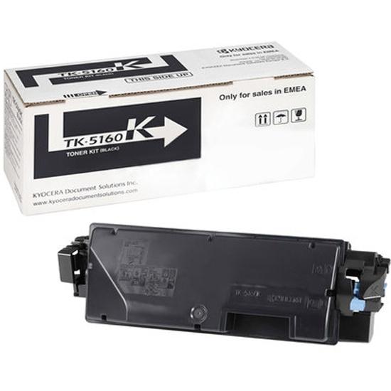 Тонер-картридж Kyocera TK-5160K 16000 стр  Black для P7040cdn