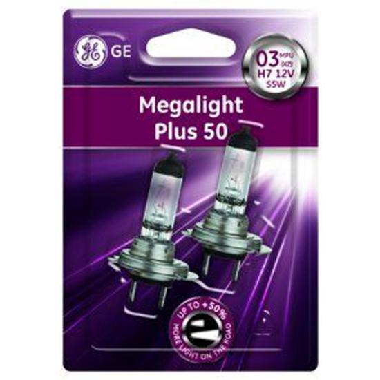 Лампа General Electric H7 12V-55W PX26d (+60% света) Megalight Plus, комплект 2 шт, 19759 (58520MPU) 19759 (58520MPU (бл.2)) - низкая цена, доставка или самовывоз по Нижнему Новгороду. Лампа General Electric H7 12V-55W PX26d (+60% света) Megalight Plus, комплект 2 шт, 19759 (58520MPU) купить в интернет магазине ОНЛАЙН ТРЕЙД.РУ