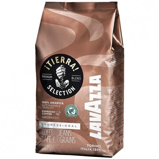 Кофе в зернах Lavazza Tierra 1кг 8000070043329 - купить по выгодной цене в интернет-магазине ОНЛАЙН ТРЕЙД.РУ Воронеж