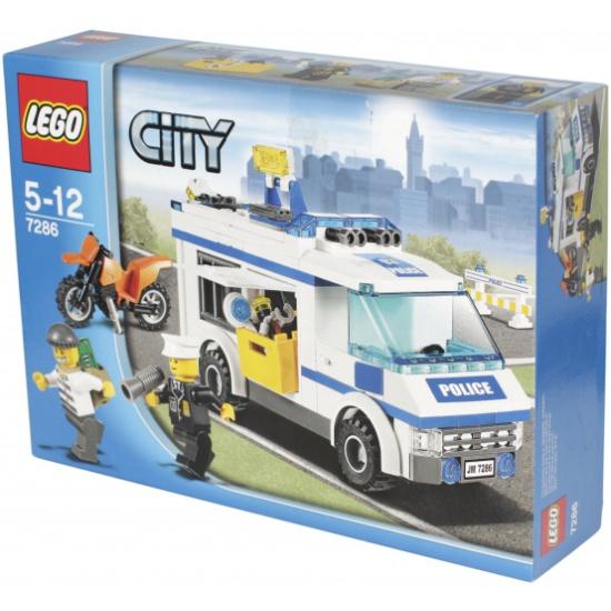 Лего 7286 перевозка заключённых лего город.