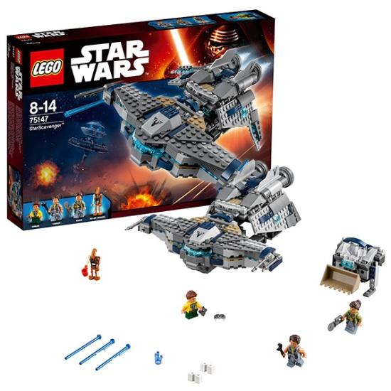 Конструктор Lego STAR WARS Звёздный Мусорщик 75147