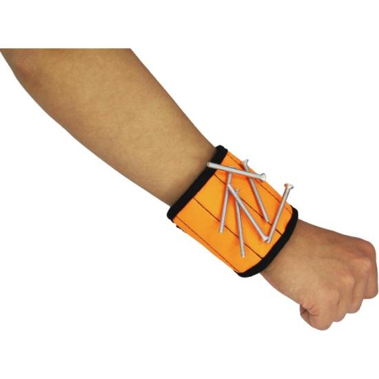 Магнитный браслет MasterProf с неодимовыми магнитами, оранжевый — купить в интернет-магазине ОНЛАЙН ТРЕЙД.РУ