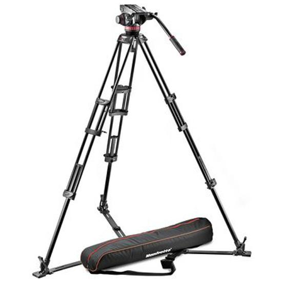 Manfrotto MVH502A,546GB-1 Штатив с видеоголовкой для видеокамеры — купить в интернет-магазине ОНЛАЙН ТРЕЙД.РУ