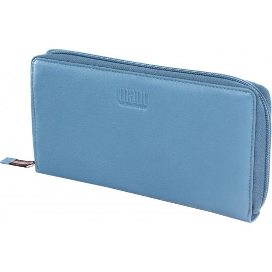 ad8f452fd3c1 Кошелек женский Mano 20102 SETRU kobald blue, голубой - купить в интернет  магазине с доставкой