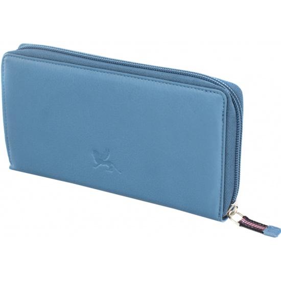 c5e31dbb2f52 Кошелек женский Mano 20102 SETRU kobald blue, голубой Изображение 5 -  купить в интернет магазине