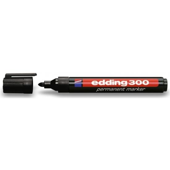 Маркер перманентный edding 300 черный