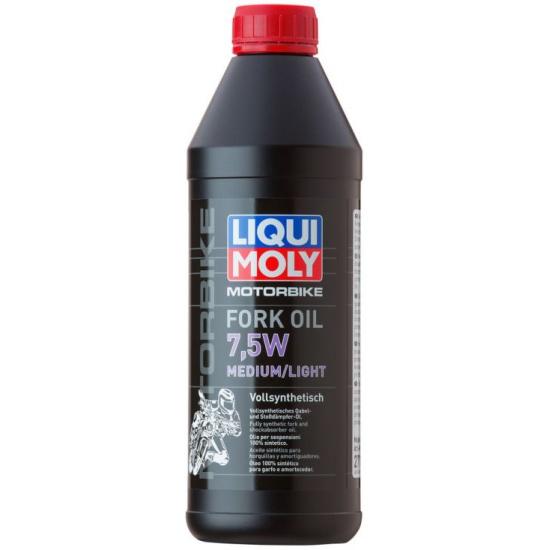 Масло для вилок и амортизаторов LIQUI MOLY Motorbike Fork Oil Medium/Light 7.5W 1 л — купить в интернет-магазине ОНЛАЙН ТРЕЙД.РУ