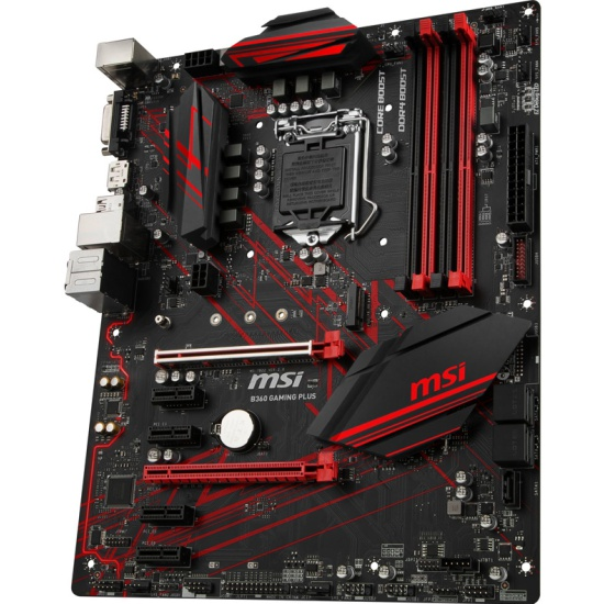 Материнская плата MSI B360 GAMING PLUS (LGA1151v2, ATX) — купить в интернет-магазине ОНЛАЙН ТРЕЙД.РУ