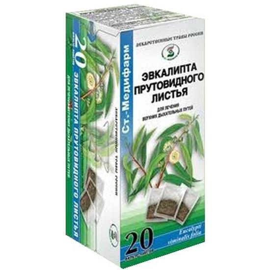 Фиточай Эвкалипт прутовый листья 1.5г 20 - купить в интернет-магазине ОНЛАЙН ТРЕЙД.РУ