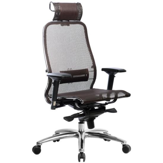 Кресло руководителя МЕТТА Samurai S-3.04, Темно-коричневый — купить в интернет-магазине ОНЛАЙН ТРЕЙД.РУ