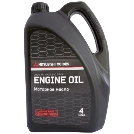 Моторное масло MITSUBISHI Engine Oil 0W-30 4 л