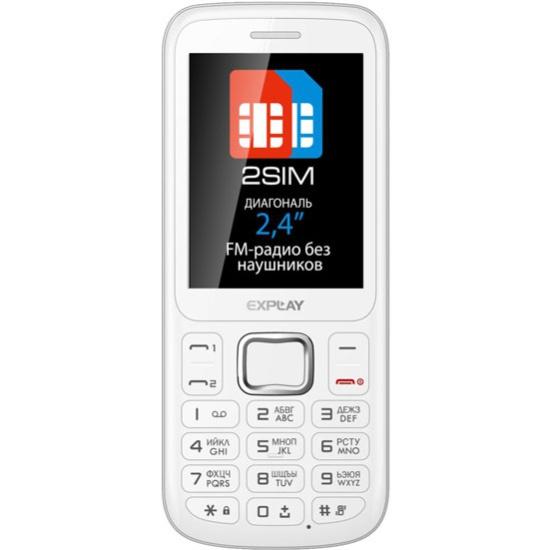 Мобильный телефон Explay A240 белый - купить в интернет-магазине ОНЛАЙН ТРЕЙД.РУ