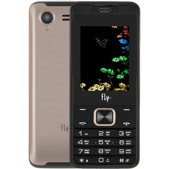 83117b4297db3 Мобильный телефон Fly FF245 Champagne - купить в интернет магазине с  доставкой, цены, описание