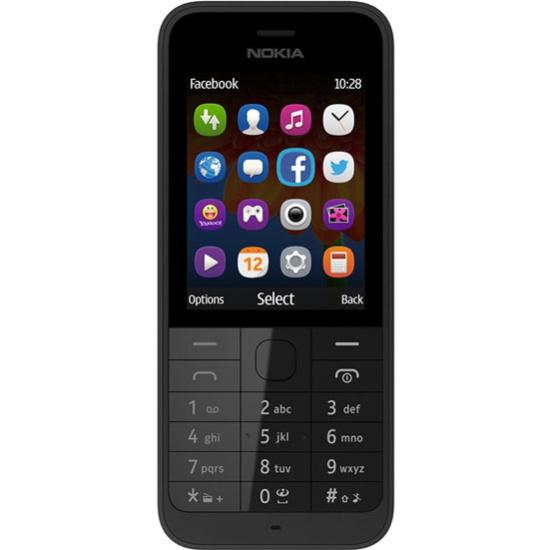 0a67ef6f5ad Мобильный телефон Nokia 220 Dual sim Black - купить в интернет магазине с  доставкой