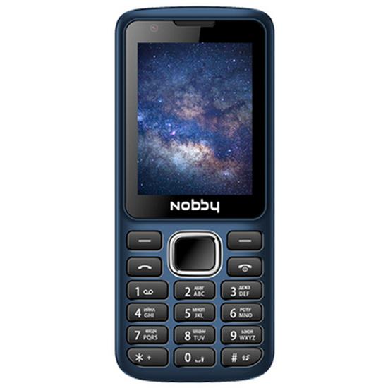 Мобильный телефон Nobby 230 темно-синий Nobby 13020 - низкая цена, доставка или самовывоз по Нижнему Новгороду. Мобильный телефон Nobby 230 темно-синий купить в интернет магазине ОНЛАЙН ТРЕЙД.РУ
