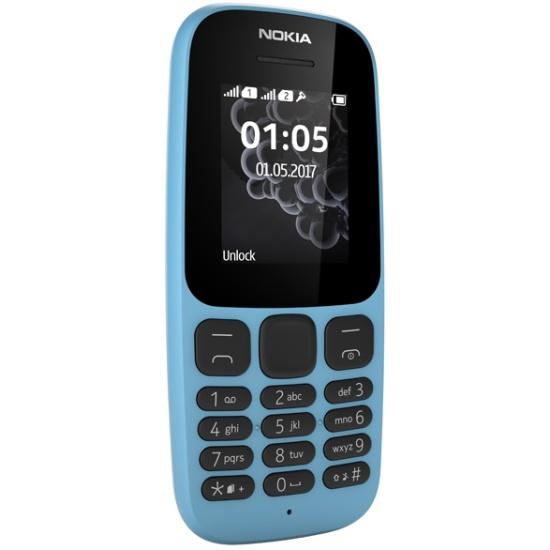 1065e4a7b00c8 Мобильный телефон Nokia 105 (TA-1010) Blue Изображение 2 - купить в интернет