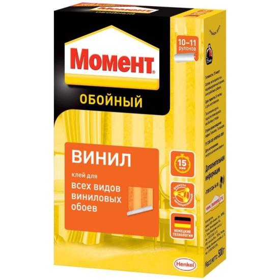<b>Обойный клей Момент ВИНИЛ</b>, 500 г — купить в интернет ...