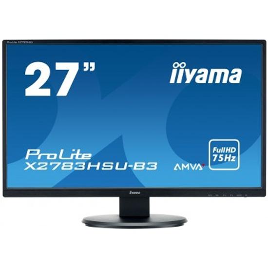Монитор Iiyama X2783HSU-B3 27 Black — купить в интернет-магазине ОНЛАЙН ТРЕЙД.РУ